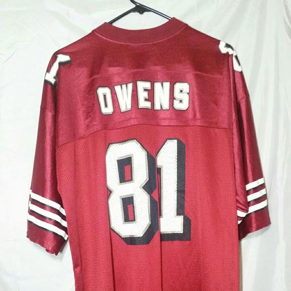 2fba6d0df Puma Shirts | Vintage 49ers Terrell Owens Jersey 81 1996 | Poshmark